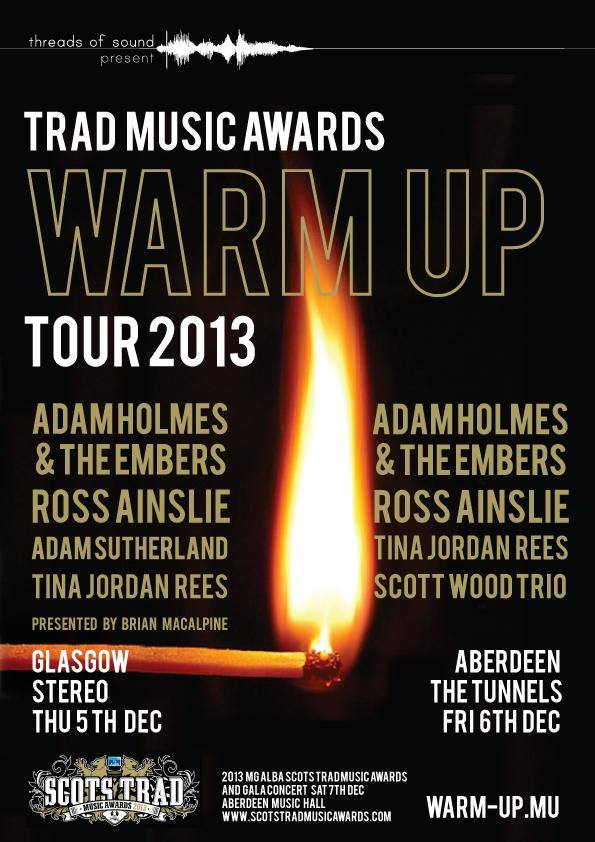 Trad Music Awards Warm Up Tour