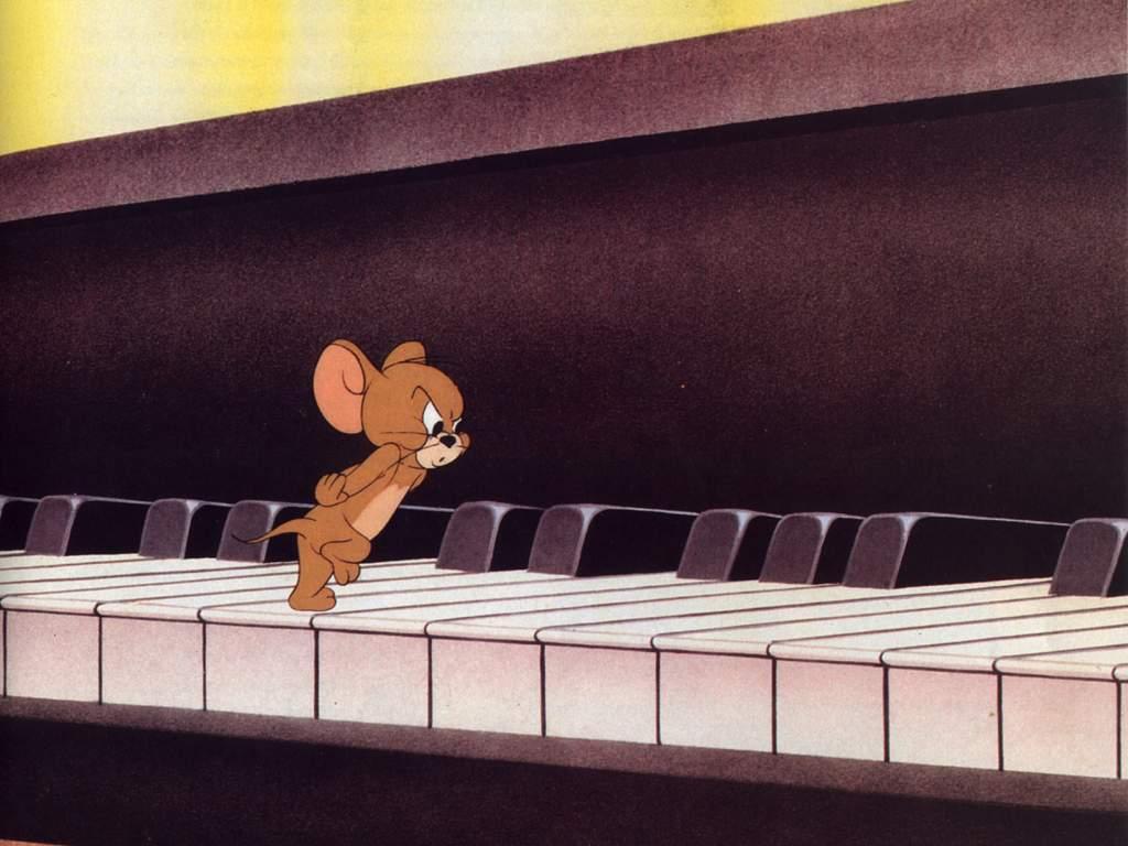 мышка на пианино картинки целом, при выборе